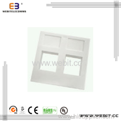 Face plate,UK Type,1port or 2 ports 86*86mm