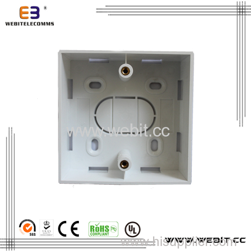 Mount back box Fit for Wall Outlet / face plate 86*86mm 86 type