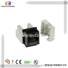 good quality and price 110 type cat 5e keystone jack