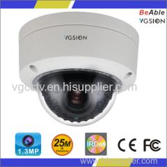 720P Resolution1.3MP AHD IR Dome Camera