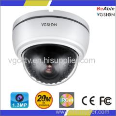 720P Resolution1.3MP AHD Waterproof Dome IR Camera