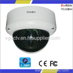 720P Resolution1.3MP AHD Waterproof Metal Dome Housing Indoor IR Camera