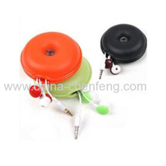 promotional apple shape mobile phone cord orgnizer