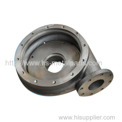 sand casting pump house casing