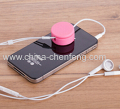promotional smartphone cleaning cable winder