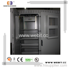 19'' installation battery cabinet double wall type