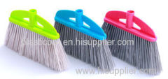 OEM ODM Floor Plastic Upright Broom Refill PVC besom broom