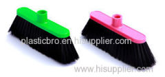 Plastic Soft Bristle Broom Head Tata Straight Broom Refill American Screw