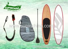 Leaf design custom airbrush sup boards paddle board