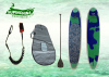 professional Blue Green Air Brush Surfing Sup Boards longboards