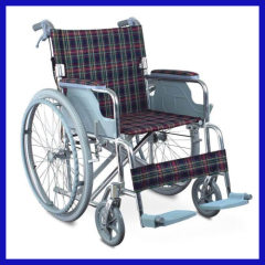 Fixed armrest Fixed footrest Manual Wheelchairs for disablity