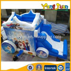 Frozen carriage inflatable Bouncer