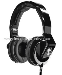 Skullcandy Mix Master Mike DJ Headphones With Mic Black for iPhone iPod iPad