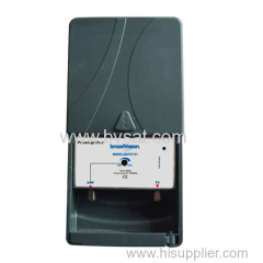 Excellent performance digital ready TV antenna signal amplifiers