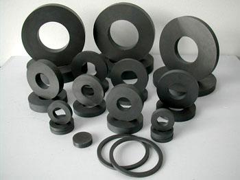 Selling plastic ferrite ring magnet