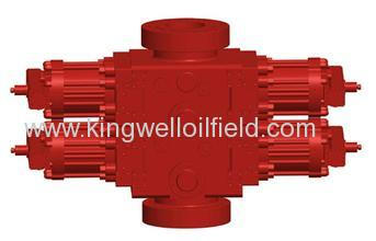 Cameron type Double Ram Blowout Preventer BOP Well control