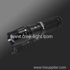 Rechargr CREE XM-L T6 led flasilight High power led torch light