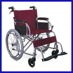 Steel frame Disabled wheelchair for disabled