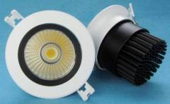 10W 15W Recessed COB LED Downlight