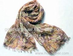 Printing scarf cotton scarf