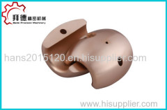 Brass milling parts for marine vessel