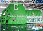 Green PVC Inflatable Outdoor Tent Unique Polyester / Nylon for Camping
