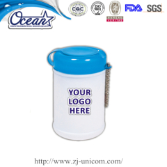 Travel well sanitizer wipe event promotional items
