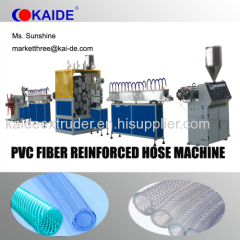 8-50mm PVC fiber hose Production Machine China Supplier