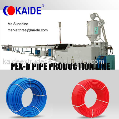 Cross-linking PEX pipe making machine more than 20 years