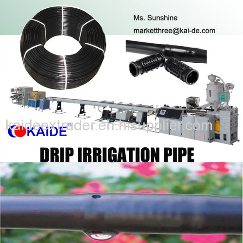 Production Machinery for Round Drip Irrigation Pipe