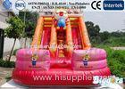 Commercial Mini Inflatable Water Slide Double-stitched CE , UL For Kids Use