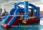 Mini Moonwalk Commercial Inflatable Bouncers House PVC For Residential , ASTM F963