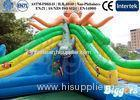 Jellyfish Kids Inflatable Slides Children Inflatable Water Park Water Slide With Blower