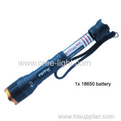 Recharge Aluminium CREE XM-L T6 Led flashlight high power lamp
