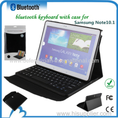 New design bluetooth flexible keyboard with PU leather case for pc tablet