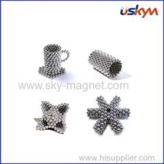 5mm magnetic ball with 216pcs for one set