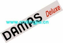 DECAL-DAMAS DLX 77710A83D11-7O2 / 94586374 FOR DAEWOO DAMAS