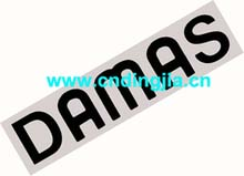 DECAL-DAMAS 77710A83D01-7A1 / 94586371 FOR DAEWOO DAMAS