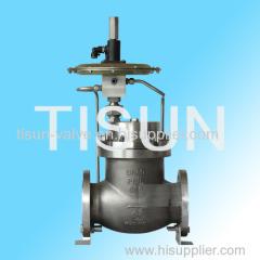 self-operated micro-pressure control valve