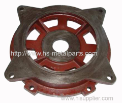 Auto parts pump housing gray iron casting ductile iron casting