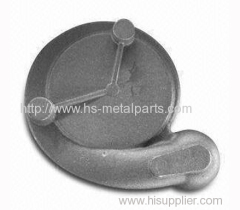 Car water pump housing grey iron casting