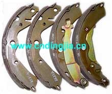 BRAKE SHOE 53200-85800-000 / 93742633 FOR DAEWOO DAMAS