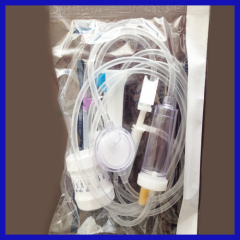 Disposable sterile precision medical infusion set with needle for patient