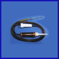 Disposable I.V. flow regulator avoid light type for patient