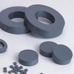 High guass hard ferrite motor magnet