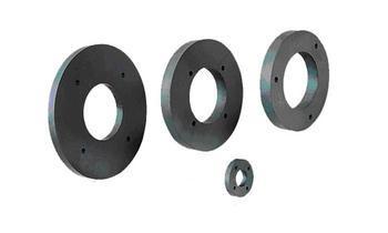 Competitve magnetic ferrite magnet