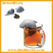 Silicone tea bag shark shape hot product for 2015