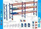 Heavy Duty Pallet Storage Racks / Cold Rolled Steel Display Rack