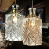 High quality and popular bar glass light fixtures for sale