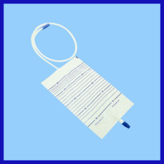 Adult Disposable Urine Bag with screw valve for patient